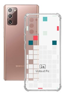 Mosaic Design For Galaxy Note 20 Customized Transparent Mobile Cases