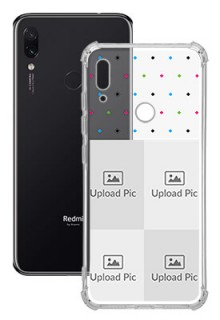4 images For Redmi Note 7 Custom Transparent Clear Phone Case
