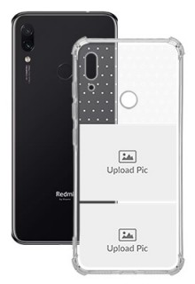 2 images For Redmi Note 7 Customized Transparent Mobile Cases
