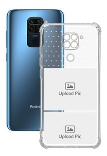 2 images For Redmi Note 9 Customized Transparent Mobile Cases