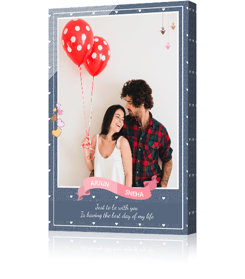Portrait Canvas Frame