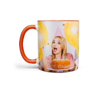 Buy Orange Mug Online
